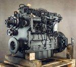 Motorüberholung des Komatsu SAA6D114E-1